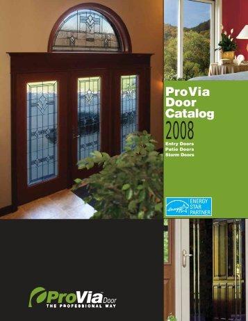 ProVia Door Catalog - Home Doors & Windows
