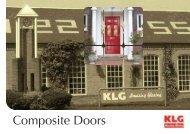 Composite Doors - KLG Amazing Glazing