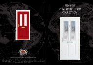PIONEER COMPOSITE DOOR COLLECTION - Reddish Joinery Ltd