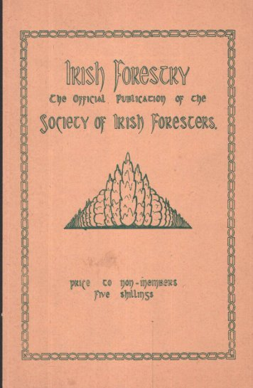 Download Full PDF - 31.21 MB - The Society of Irish Foresters