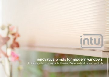 innovative blinds for modern windows - Crosby Blinds