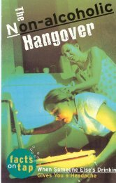 The Non-Alcoholic Hangover - Student Health and Wellness Center