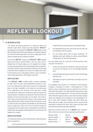 Reflex RB95 motorised blockout roller blind - Clever Home Automation