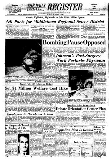 Bombing Pause Opposed - Red Bank Register Archive