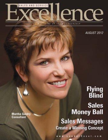 Sales Messages Flying Blind Flying Blind Sales Money Ball Sales ...