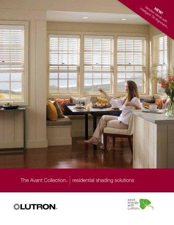 Avant Collection brochure - Lutron