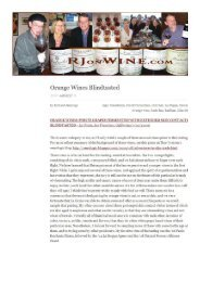 Orange Wines Blindtasted - Movia