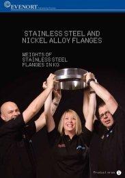 Stainless steel flange weights - Evenort