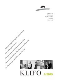 1/2010 - Kantonale Psychiatrische Dienste - Kanton St. Gallen
