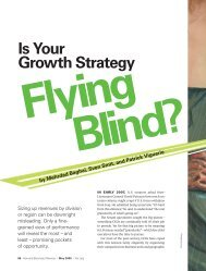 Is Your Growth Strategy Flying Blind? - Yellowedge Research