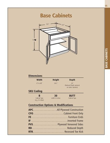 Spec Section Wall Cabinets American Woodmark