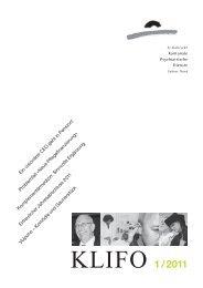 1/2011 - Kantonale Psychiatrische Dienste - Kanton St. Gallen