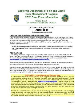 Nuisance black bears california department of fish and game for Department of fish and game california