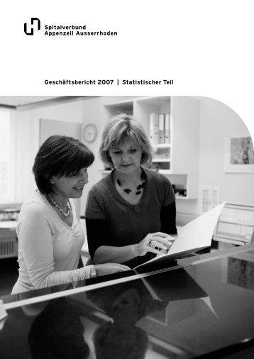 Download Statistische Kennzahlen 2007 Spitalverbund AR
