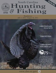 Hunting & Fishing - Department of Natural Resources - State of ...