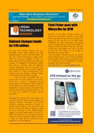 Issue 253 - Legal Technology Insider