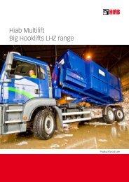 Hiab Multilift Big Hooklifts LHZ range - Boelube