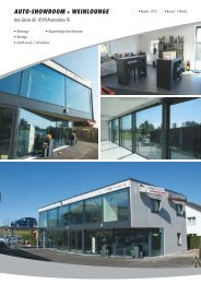 AUTO-SHOWROOM + WEINLOUNGE - PUR AG