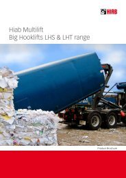 Hiab Multilift Big Hooklifts LHS & LHT range - Boelube