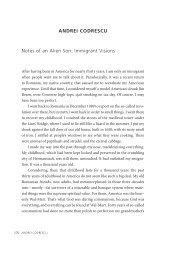 ANDREI CODRESCU Notes of an Alien Son - Dalkey Archive Press