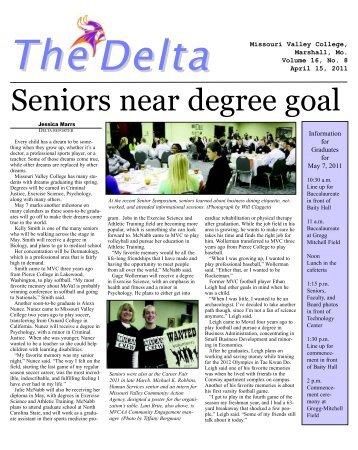Delta -- April 15, 2011 edition_Delta Oct. 7 - Missouri Valley College