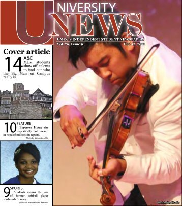 Issue #9, October 17, 2011 - The University News