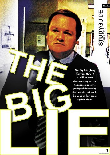 StGd The Big Lie.indd - ABC Commercial
