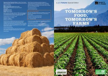 TOMORROW'S FOOD, TOMORROW'S FARMS - Forum for the Future