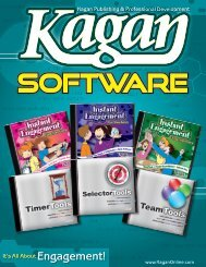 to download a PDF version of - Kagan Publishing & Professional ...