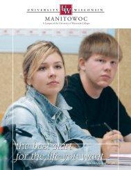 MAN Viewbook - University of Wisconsin-Manitowoc - University of ...