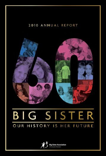 Big Sister 2011 Annual Report - Big Sister Association of Greater ...