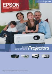 Big screen entertainment in your own home - Projectors