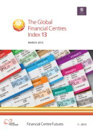 The Global Financial Centres Index 13
