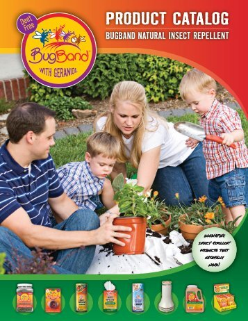 bugband natural insect repellent product catalog