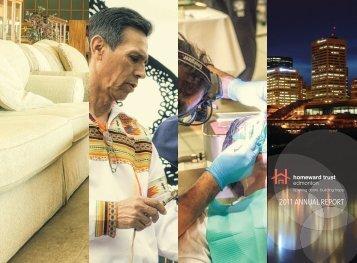2011 ANNUAL REPORT - Homeward Trust Edmonton