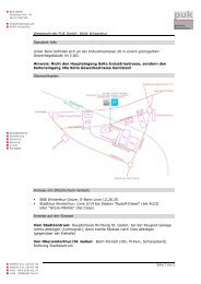 Wegbeschrieb (pdf, 494kB) - PUK GmbH