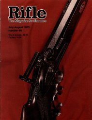 Rifle-[ rifles - Wolfe Publishing Company