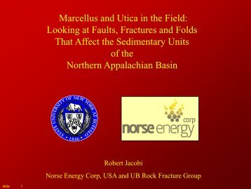 Marcellus and Utica in the Field