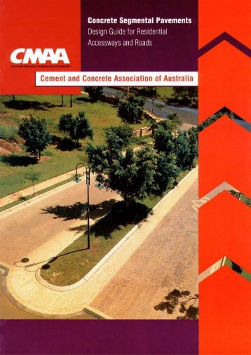 CMAA Design Guide for Residential Accessways and - Brikmakers