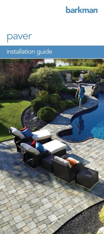 paver - installation guide