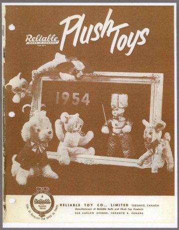 Plush Toys - 1954 PDF download
