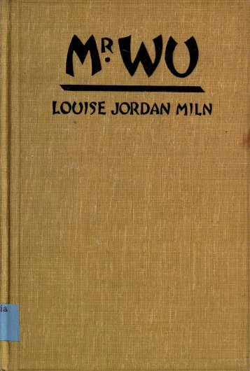 LOUISE JORDAN MJLN - University of Oregon