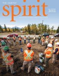 habiTaT spiriT Fall/Winter 2012 - Habitat for Humanity Canada
