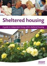 Sheltered Housing Leaflet - Croydon Council
