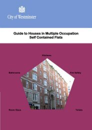 Guide to Houses in Multiple Occupation Self Contained Flats