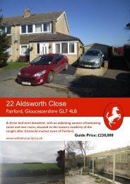 22 Aldsworth Close - The Guild of Professional Estate Agents