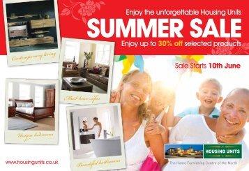 summer sale - Housing Units