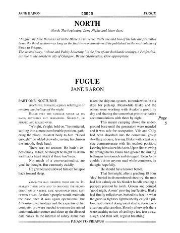 fugue - Oblique Publications