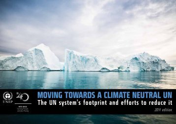 Moving Towards a Climate Neutral UN
