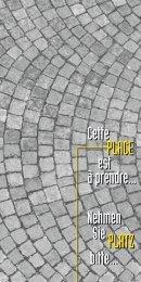 Platz PlaCe - Royal Agency SA